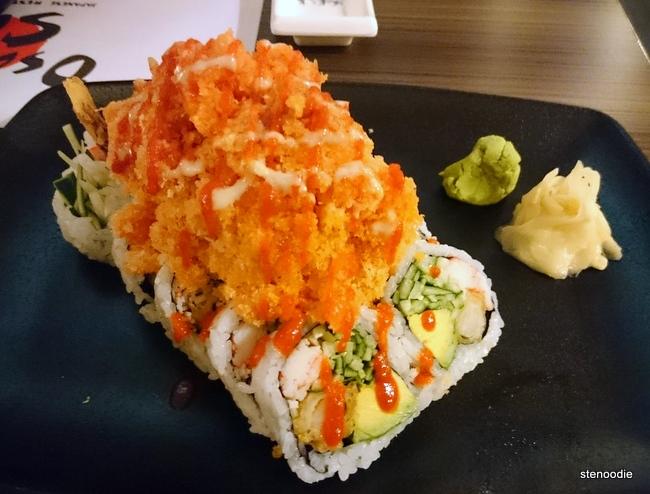 Spicy Orange Dragon Roll