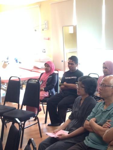 Pengarah IKN turut hadir memberikan sokongan untuk program ini