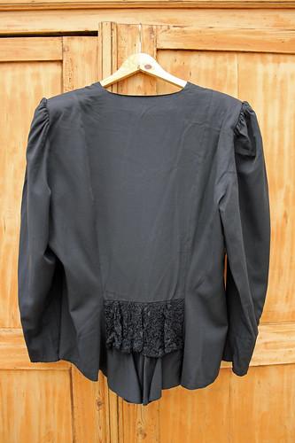 plus size Goth vintage vest
