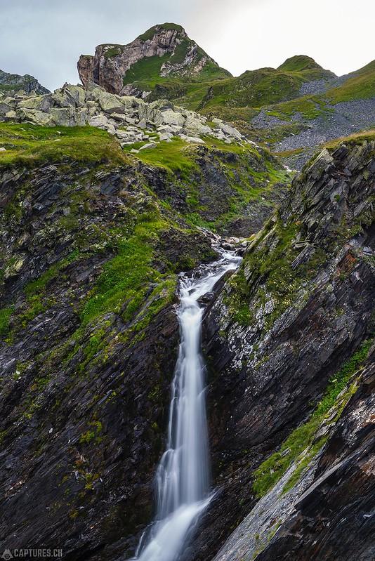 Waterfall- Greina