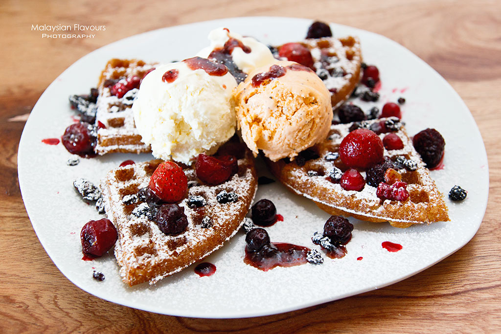Terracotta Cafe & Boutique Tropicana Avenue waffle