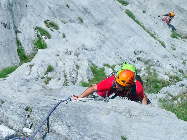 Schneeberg Stadelwand Des Kessels neue Kleider 590m (7-)