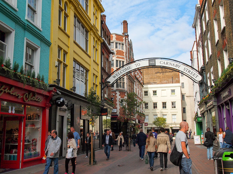 Carnaby Street in Soho