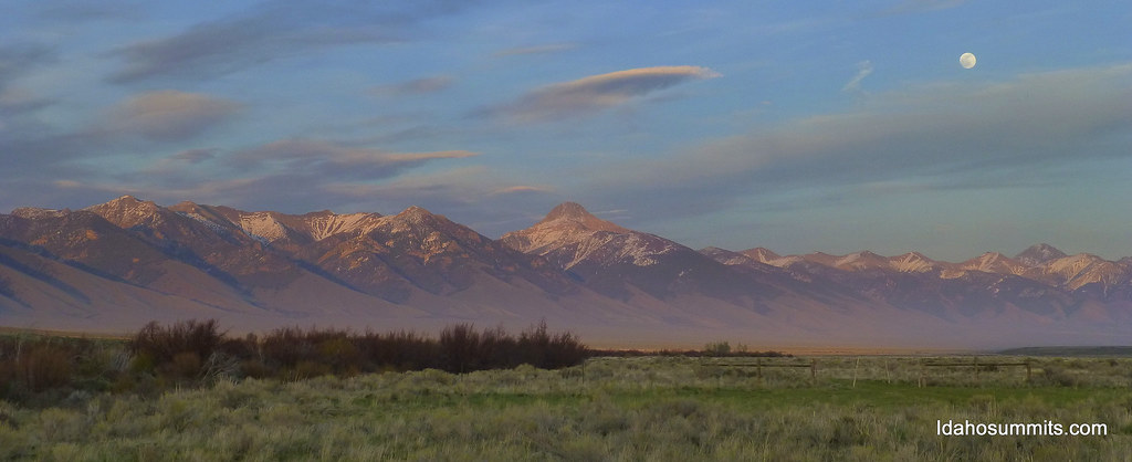 Lemhi Range from Camp