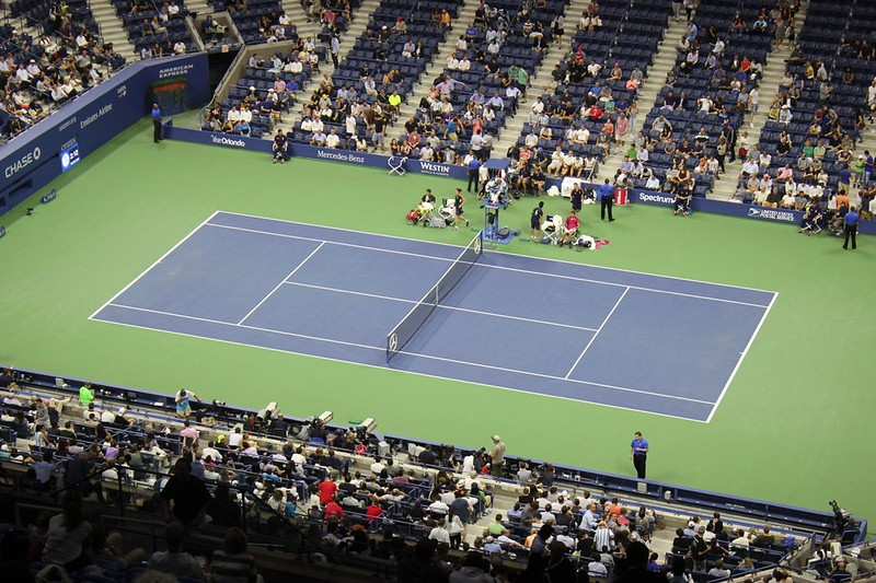 2016 US Open QF: Wawrinka defeats Del Potro | by Michael C Dunne
