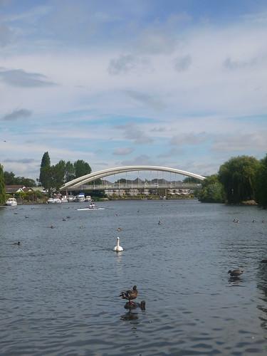 New Bridge at Desborough Island