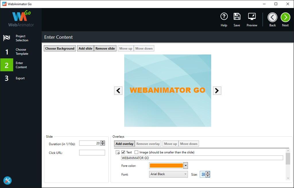 WebAnimator GO 4