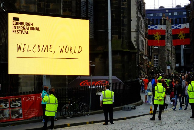Edinburgh Festival - Welcome World