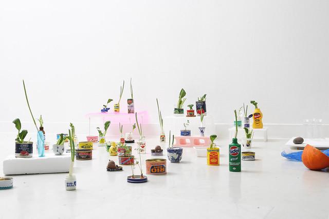「感覚のあそび場―岩崎貴宏×久門剛史」展示風景