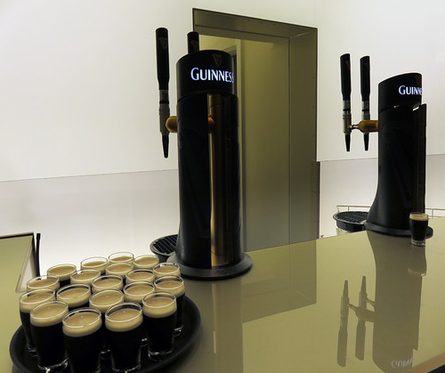 The White Room in the Guinness Storehouse at St. James's Gate Brewery in Dublin, Ireland
