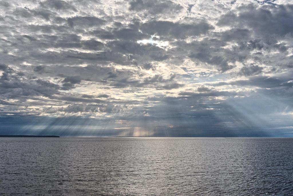 Sunrise on the Strait of Georgia