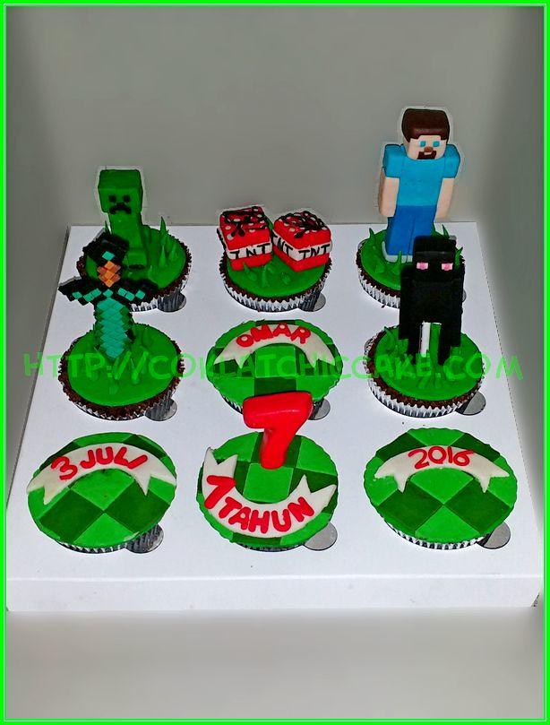 cupcake set minecraft