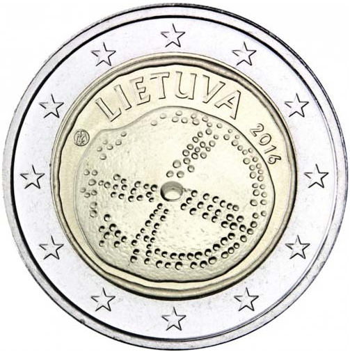 2 Euro Litva 2016, Baltská kultúra