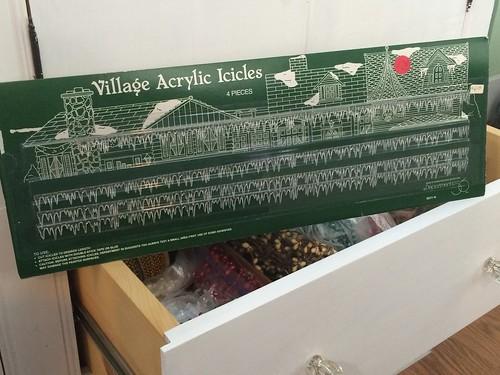 Acrylic icicles