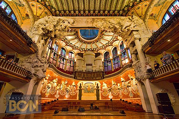 flamenco no Palau de la Música Catalana, Barcelona
