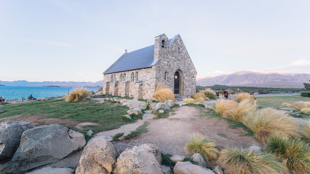 Good shepherd church, Lake Tekapo