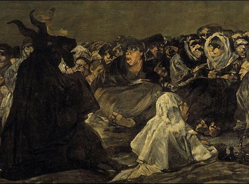 El Aquelarre Goya Detalle Uti 485